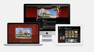 Web Design portale per struttura alberghiera con ristorante
